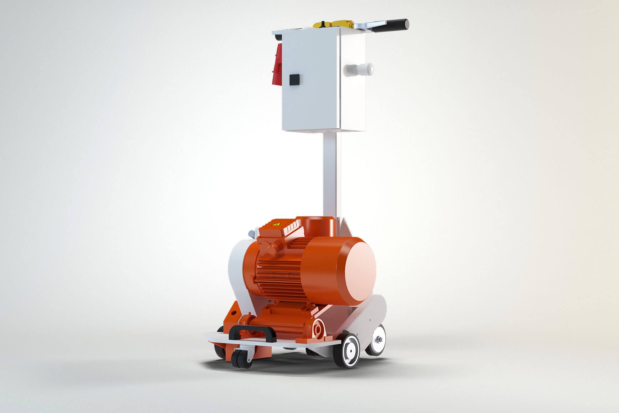 vloerverwarming freesmachine VLFR-compleet zelfrijdend_Floor iQ