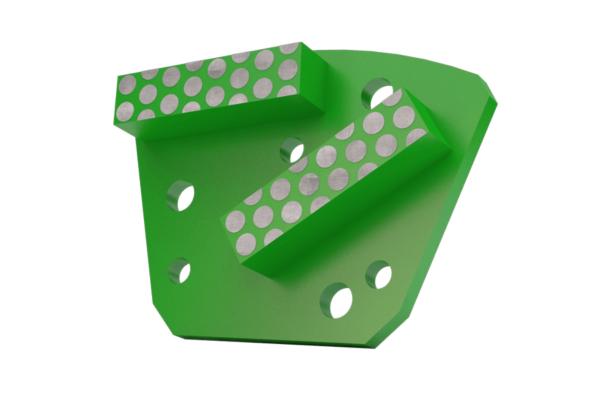 PKD Wing split green