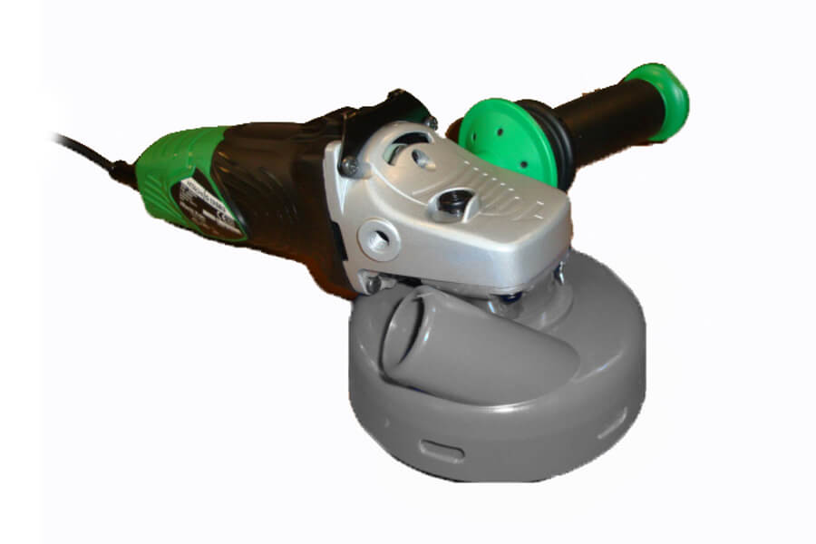 Handbetonschuurmachine Hitachi slijper BGV-125AV met stofkap