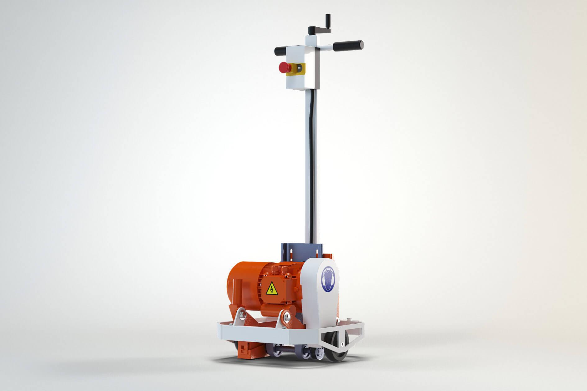 vloerverwarming freesmachine VLFL-Light2 Floor iQ