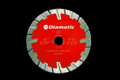 Diamantzaagblad 125, 150, 230mm