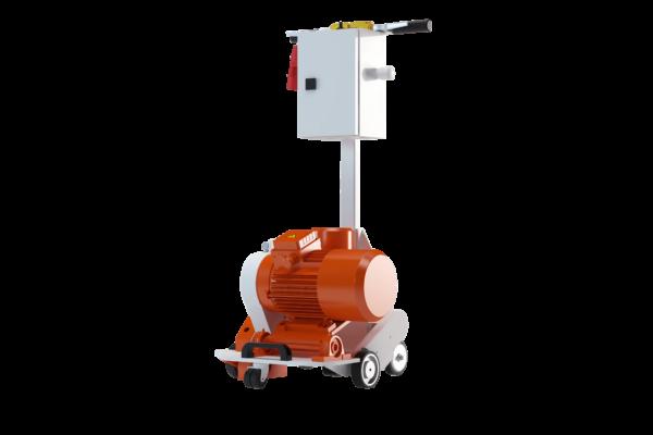 Vloerverwarming freesmachine VLFR-compleet-zelfrijdend
