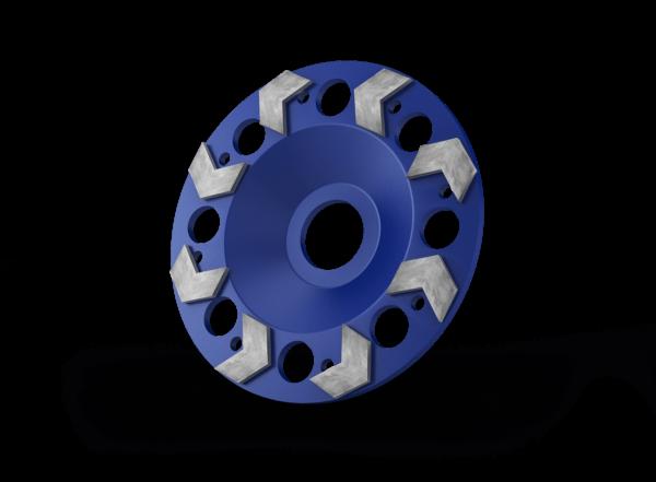 Diamant komschijven Blue 125, 180 mm