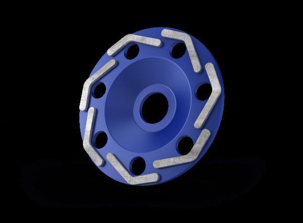 Diamant komschijven boomerang blue